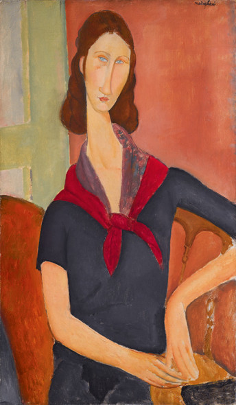 AMEDEO MODIGLIANI, JEANNE HÉBUTERNE (AU FOULARD). ESTIMATE UPON REQUEST