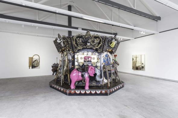 Kienholz - The Merry-Go-World or Begat By Chance and the Wonder Horse Trigger - ph Delfino Sisto Legnani