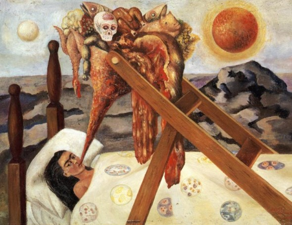 F.Kahlo, Without Hope, 1945