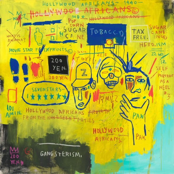 J.M Basquiat, Hollywood africans, 1983