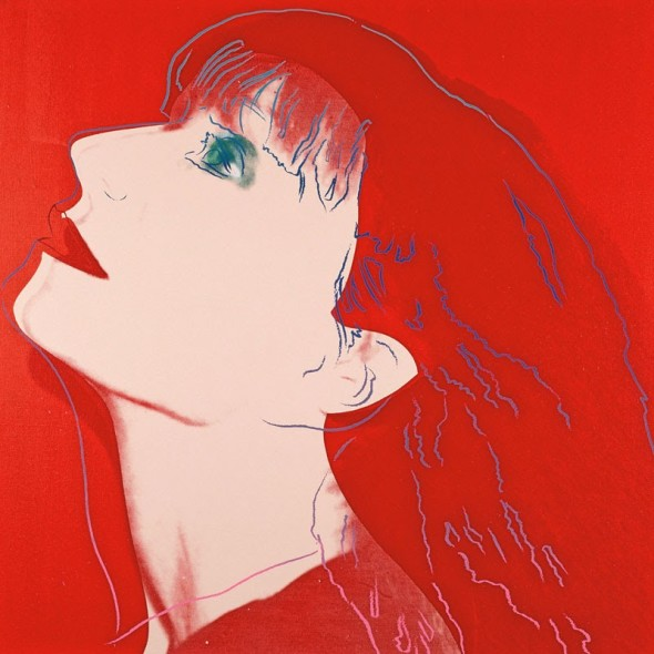 Rykiel painted by Andy Warhol in 1986