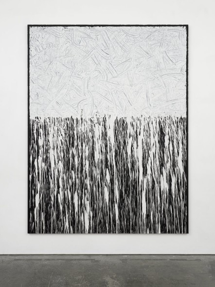 Richard Long Untitled, 2016 China clay linen on plywood Lisson Gallery Milano