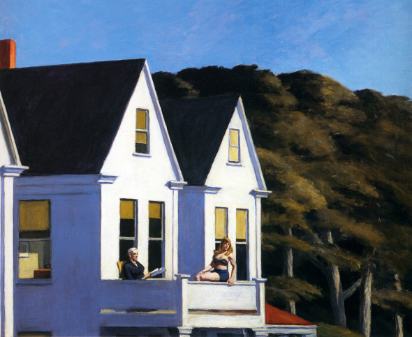 Edward Hopper, Second story Sunlight,1960
