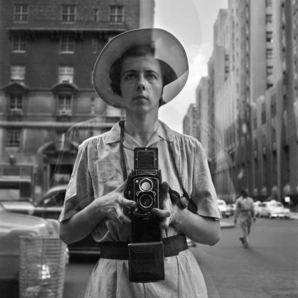 Vivian Maier, Self-Portrait, Undated, 40x50 cm(16x20 inch.) , © Vivian Maier/Maloof Collection, Courtesy Howard Greenberg Gallery, New York