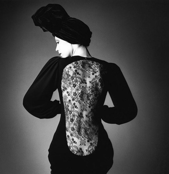 Jeanloup Sieff, Robe d'Yves Saint Laurent – 1970