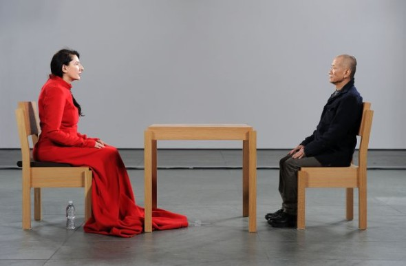 MarinaAbramović, The Artist is present, MoMa, New York