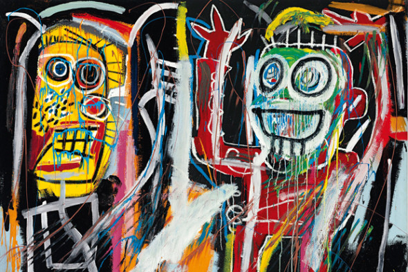 Jean-Michel Basquiat Dustheads (1982) Christie's NY Top Price