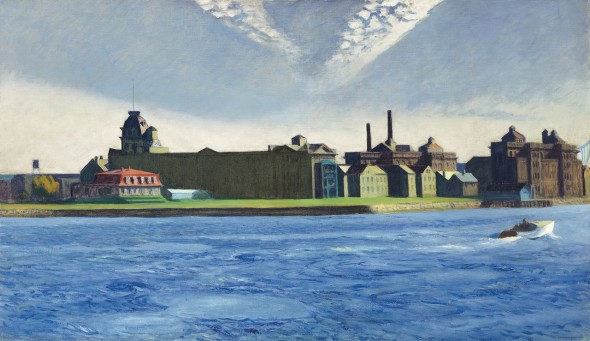 Edward Hopper, Blackwell's Island ,1928