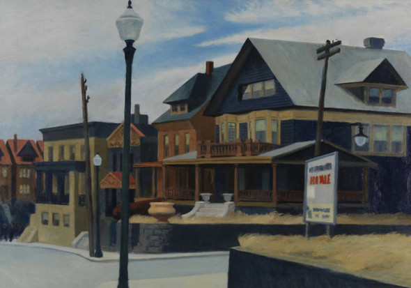 Edward Hopper, East Wind Over Weehawken, 1934,