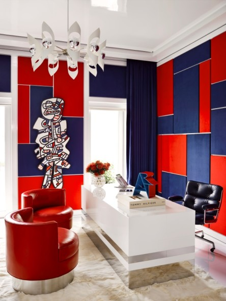 Jean Dubuffet's Le Gommeux in Tommy Hilfiger's Miami Home © Douglas Friedman