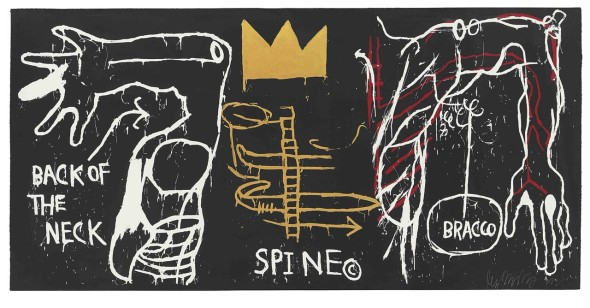 Jean-Michel Basquiat Back of the Nech, 1983 MUDEC Milano Mugrabi Collection