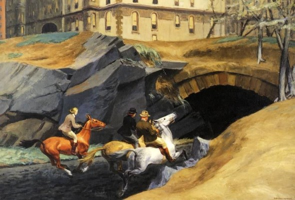 Edward Hopper, Bridle Path,1939