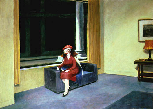 Edward Hopper, Hotel Window, 1955