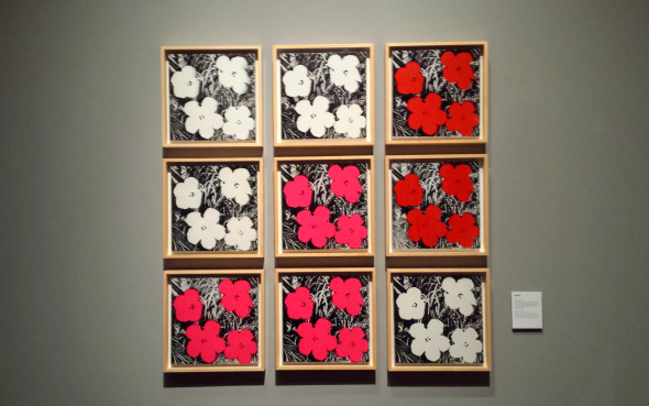 Andy Warhol, Flowers, 1962 (Foto Luca Zuccala)