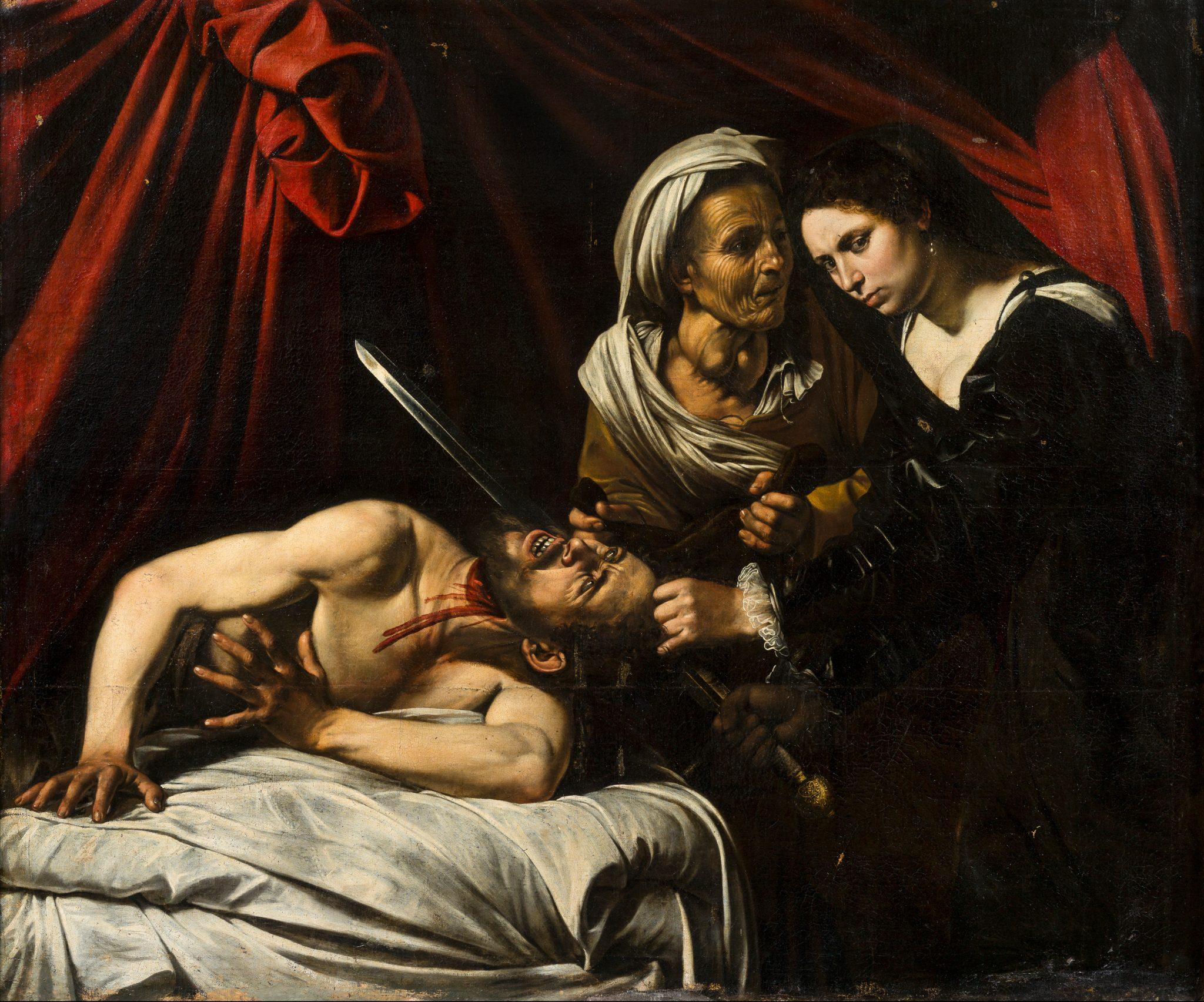 holofernes and caravaggio Great works: judith beheading holofernes (1612-13), artemisia artemisia gentileschi's judith beheading holofernes shows a famous biblical assassination the sword-woman is and became (precociously) one of the most vigorous followers of caravaggio, deploying high-contrast lighting.