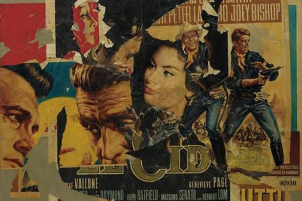 Mimmo Rotella Untitled 1964 top price