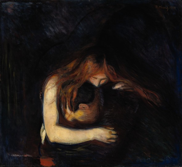 Edvard Munch  Vampire (1894) top price