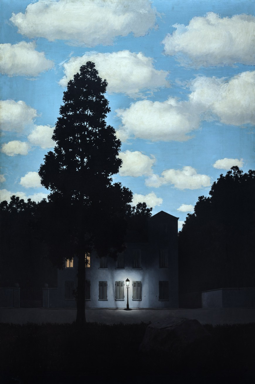 Top price le 5 opere pi costose di ren magritte for Famose planimetrie delle case
