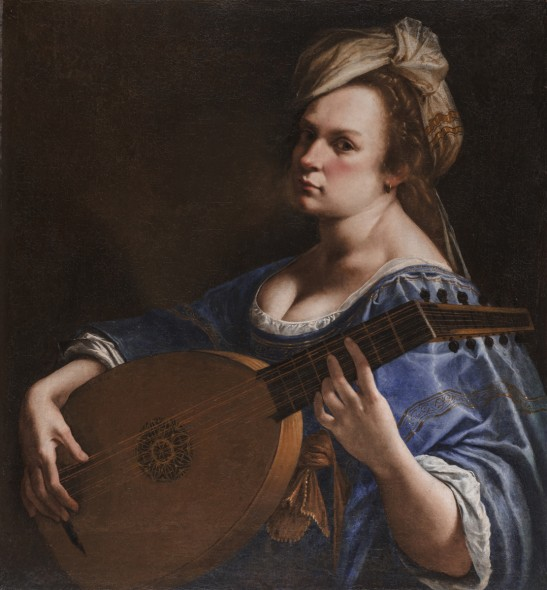 Artemisia Gentileschi Autoritratto come suonatrice di liuto, 1617-18 ca. Olio su tela, 65,5x50,2 cm Hartford, Wadsworth Atheneum Museum of Art CT, Charles H. Schwartz Endowment Fund ©Allen Phillips/Wadsworth Atheneum