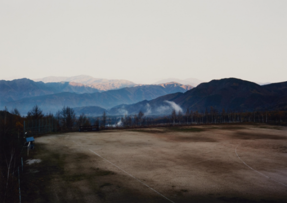 Thomas Struth Geldern 1954 Sonnenaufgang in den Bergen bei Kiso-Fukushima, Japan 1987 Chromogenic print on Agfa paper, printed 1994. 25.3 x 36.1 cm (30.3 x 40.5 cm). Signed, dated, titled and editioned in pencil on the verso. Print 11 from an edition of 25 (+ 5 A.P.).Estimated price €2.000 - €3.000