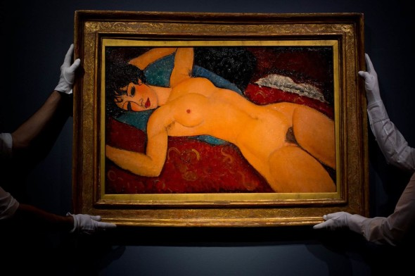Amedeo Modigliani, Nu couché, 1917-1918 TOP PRICE Le opere più costose del mondo