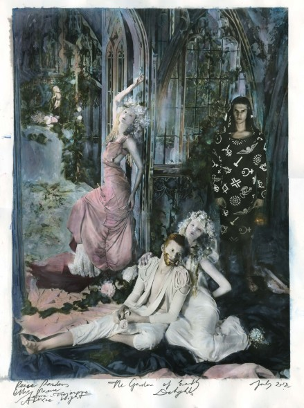"""Paulina Otylie Surys """"The Garden of Earthly Delights (Heaven)"""" Mixed Media Various sizes Total edition of 30 Courtesy of the Public House of Art"""