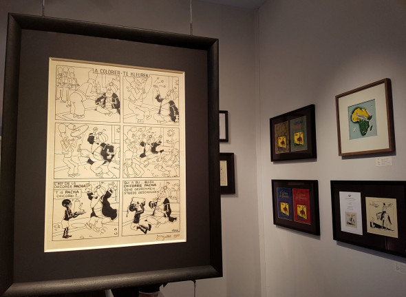 Belgian Fine Comic Strip Gallery