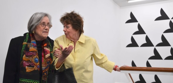 Barbara Lambrecht e Bridget Riley