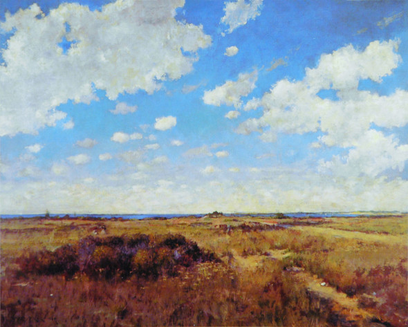 WILLIAM MERRITT CHASE Flying Clouds (1892),  © Private collection