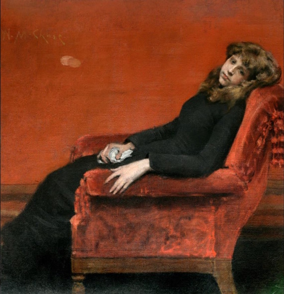 WILLIAM MERRITT CHASE The Young Orphan (1884 c.), © National Academy Museum
