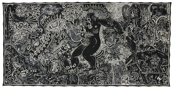 Keith Haring September 14 1986 top price