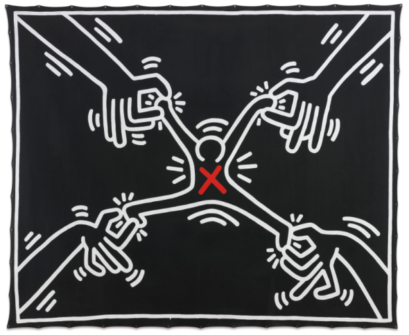 Keith Haring Untitled 1985 top price