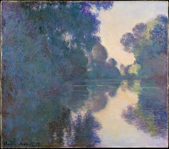 Morning on the Seine near Giverny Claude Monet ,1897