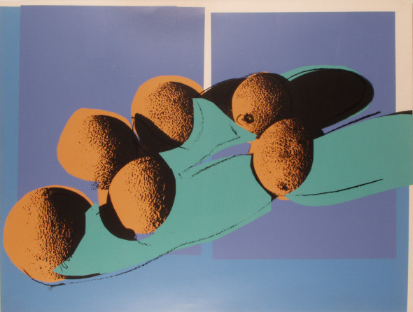 Andy Warhol, Space Fruit-Cantaloupe I, 1978, Gallery Hotel Art Firenze