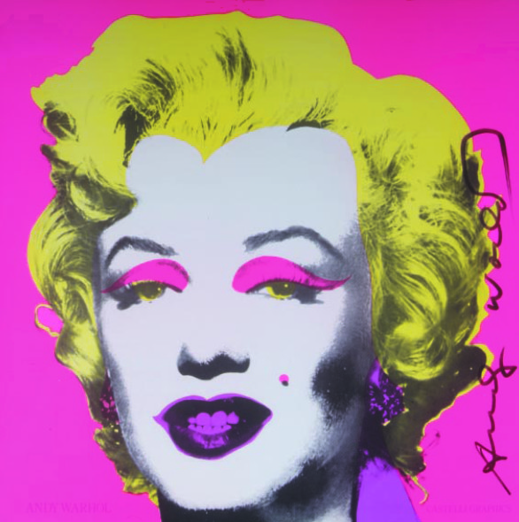 Andy Warhol, Marilyn, 1981, Gallery Hotel Art Firenze