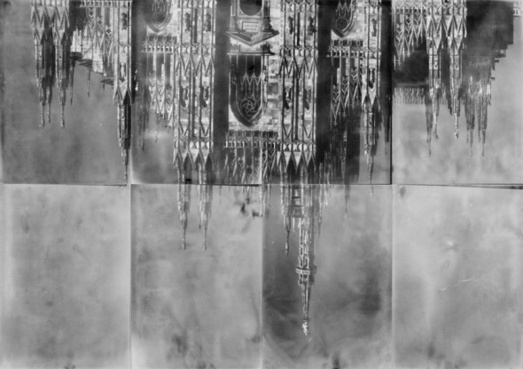 Takashi Homma, Duomo from the series The Narcissistic City Takashi Homma Duomo from the series The Narcissistic City,  2017 Camera obscura e stampa Lambda, cm206x296,1