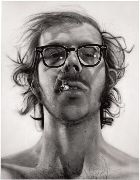 Chuck Close, Big self portrait, 1967-8