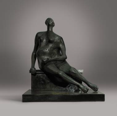 Henry Moore Seated Woman Sotheby's e Christie's