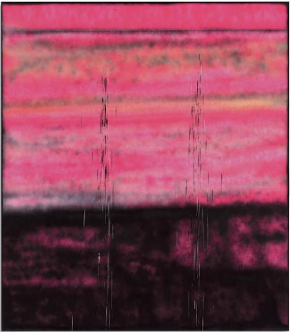 STERLING RUBY, SP302 spray paint on canvas Painted in 2014. $800,000-1,200,000