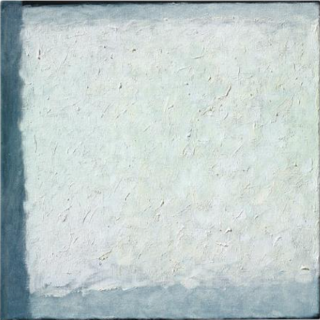 ROBERT RYMAN, Series #24 (White) oil and gesso on canvas Painted in 2004. $1,200,000-1,800,000