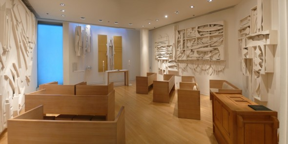 Image of Louise Nevelson Chapel of the Good Shepherd. Courtesy of Saint Peters Church