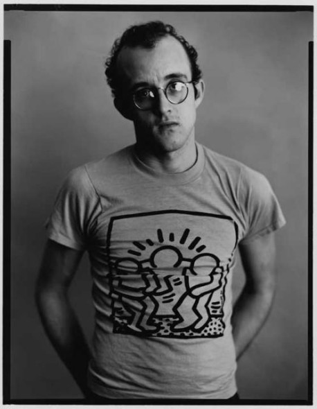 Keith Haring by Timothy Greenfield Sanders, 1985