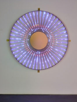 Leo Villareal, Radiant Wheel, 2015 Pace Gallery New York