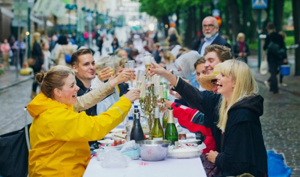 Celebrations of the Helsinki Day (c) Lauri Rotko
