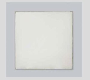 Lot 30 B Robert Ryman (B. 1930) Agency Lascaux acrylic on sized linen canvas mounted on fiberglass panel 61 3/4 x 61 3/4 in. (156.8 x 156.8 cm.) 	estimate $4,000,000 - $6,000,000  PRICE REALIZED USD 3,607,500