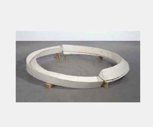 Lot 31 B Bruce Nauman (B. 1941) Skewed Tunnel and Trench in False Perspective plaster, burlap, wood 17 3/4 x 119 x 119 in. (45.1 x 302.3 x 302.3 cm.) 	estimate $2,000,000 - $3,000,000 RITIRATO