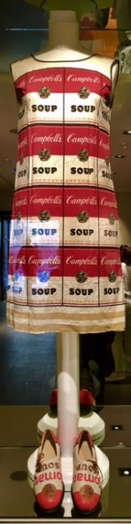 Andy Warhol, Campbell's Soup Dress, 1968, Gallery Hotel Art