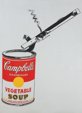 Andy Warhol  Big Campbell's Soup Christie's