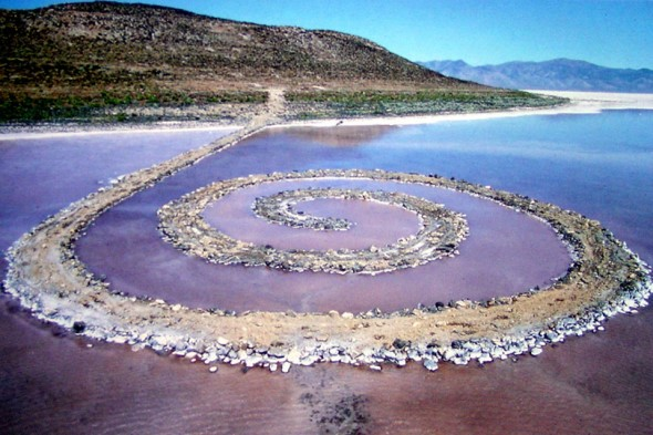 Robert Smithson, Spiral Jetty, 1971