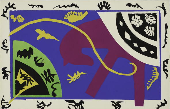 Berggruen Gallery Jazz Henri Matisse (Le Cateau-Cambrésis 1869-1954 Nice) Twenty pochoirs printed in colors 42.2 x 32.4 cm (Each page) Signed Edition of 250 1947